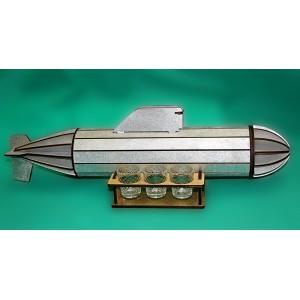 "Минибар ""Подводная лодка"" серебро"
